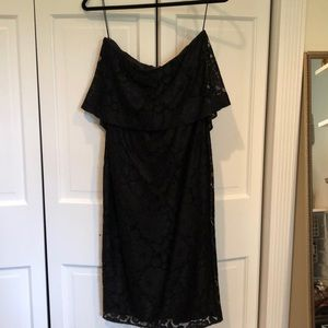 NWT likely black lace dress
